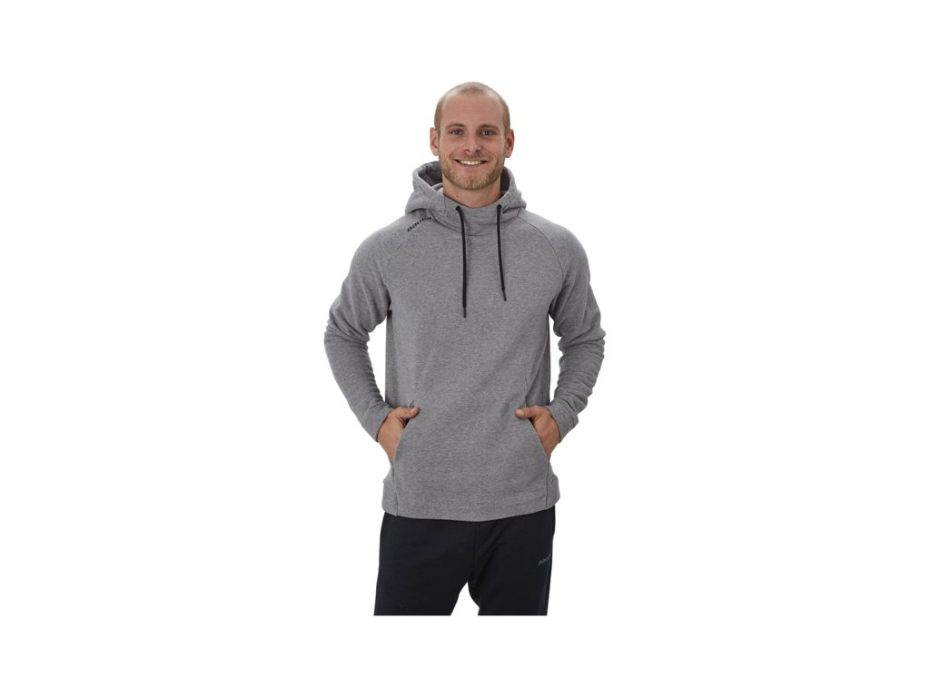 Mikina BAUER PERFECT HOODIE GRY SR