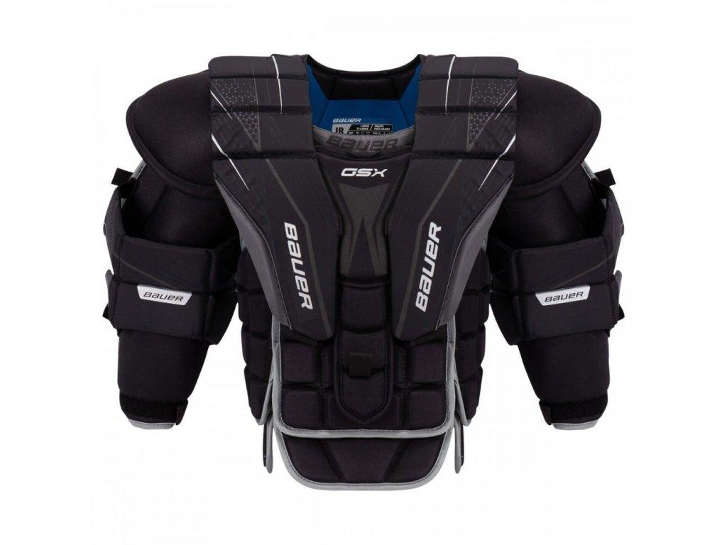 bauer goalie chest protector gsx jr