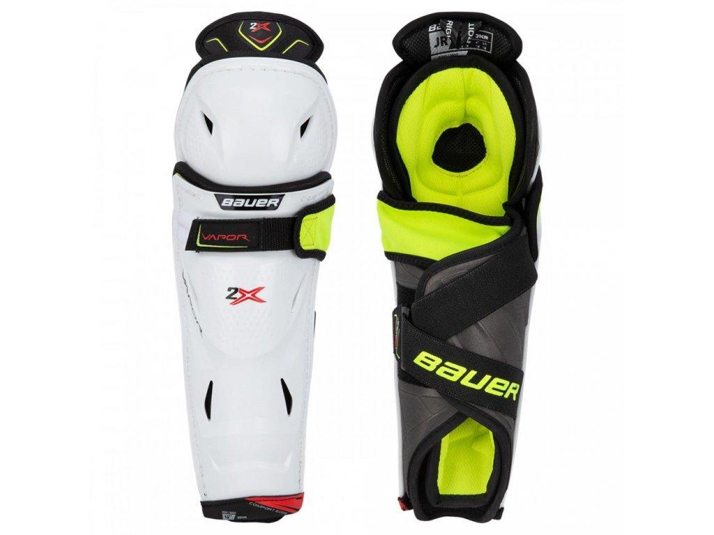 bauer hockey shin guards vapor 2x jr