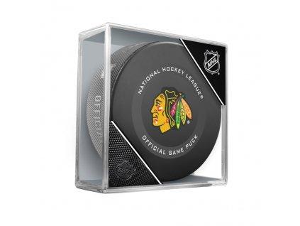 Fanouškovský puk NHL Official Game Puck (1ks)