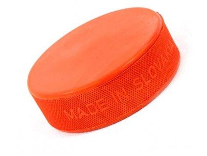 Hokejový puk oranžový těžký