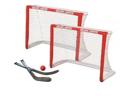 Branka Bauer knee hockey goal set twin pack
