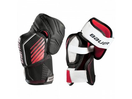 bauer hockey elbow pads nsx sr