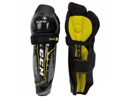 ccm hockey shin guards tacks 9040 sr