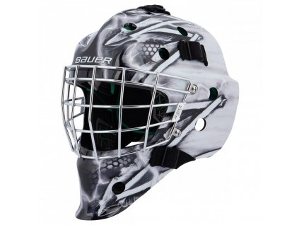 bauer goalie mask nme4 certified king jr