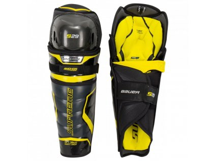 bauer hockey shin guards supreme s29 sr