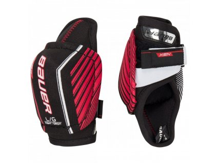 bauer hockey elbow pads nsx yth