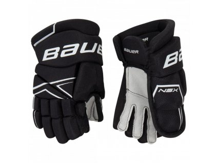 bauer hockey gloves nsx yth