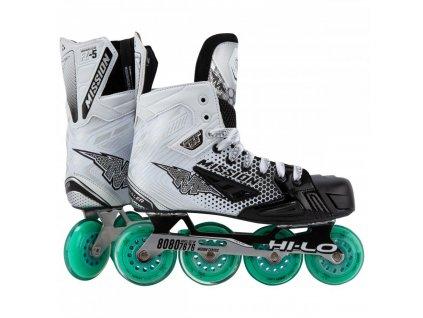 mission roller hockey skates inhaler fz 5 sr