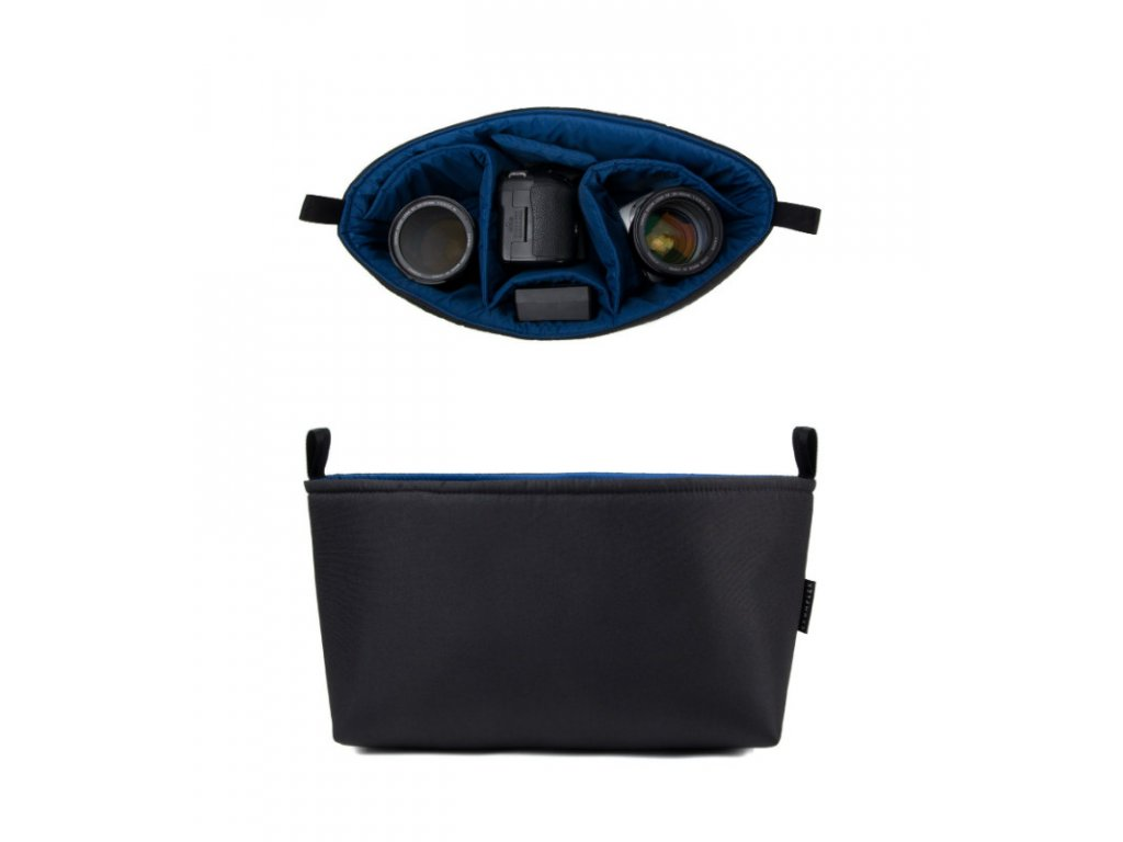 Crumpler The Inlay Pouch 7500 - black/blue