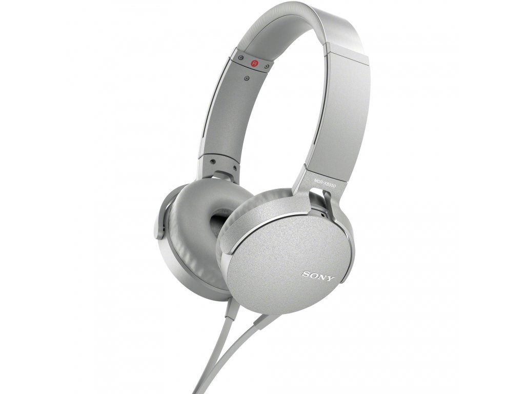 sony mdrxb550ap w xb550ap extra bass headphones 1317725