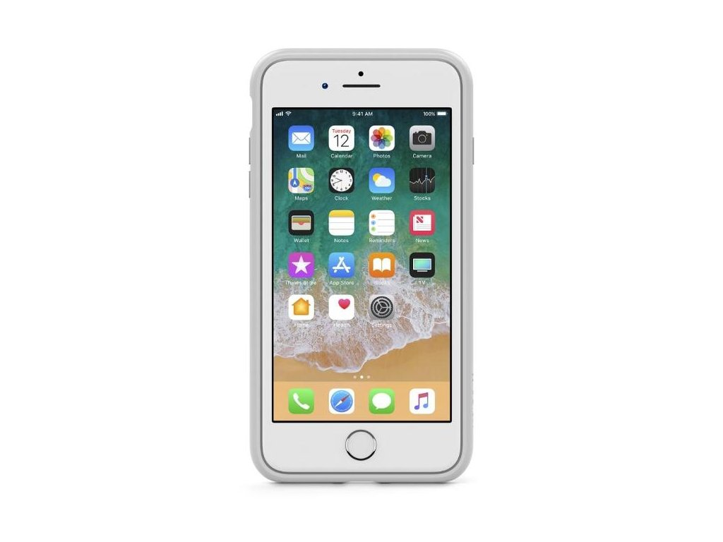 belkin sheerforce pro pouzdro pro iphone 7 8 stribrna 87171396