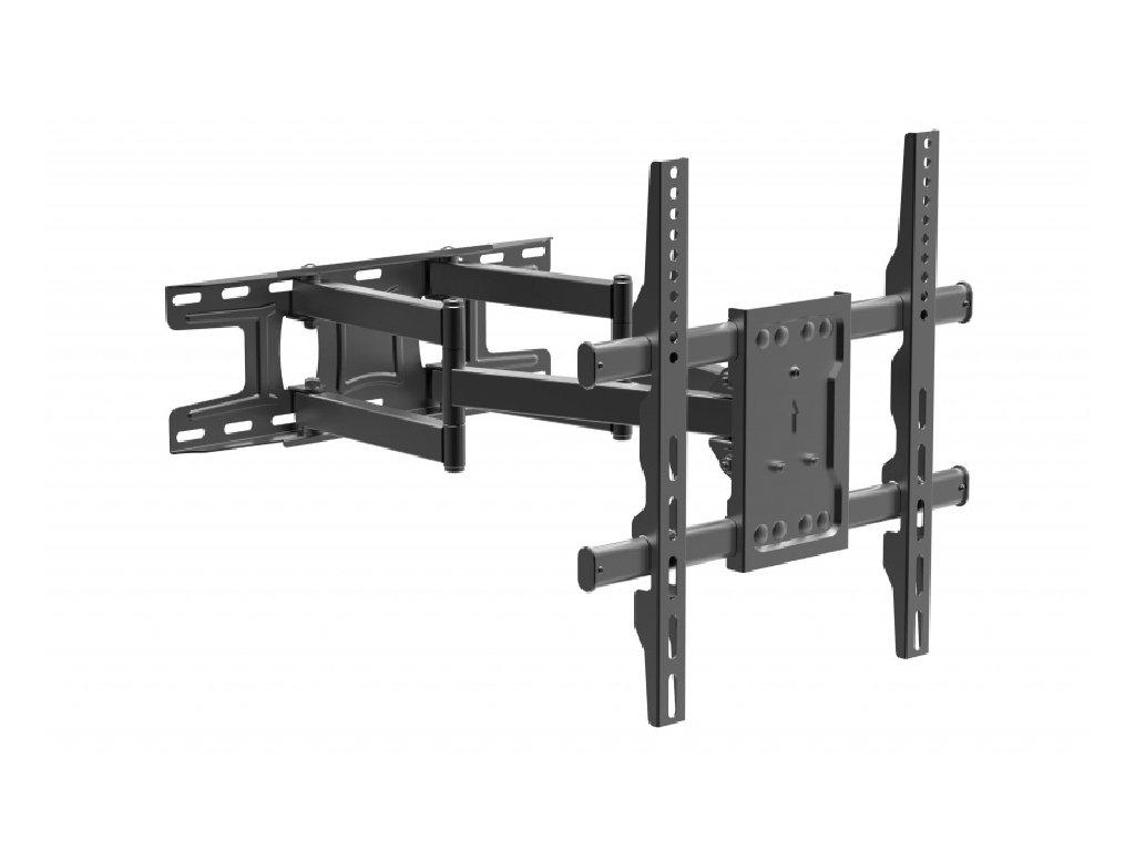 STRICT BRAND SB510 Dvouramenný výsuvný polohovací držák 80kg  zesílený PROFI držák + + zdarma kvalitní instalační materiál