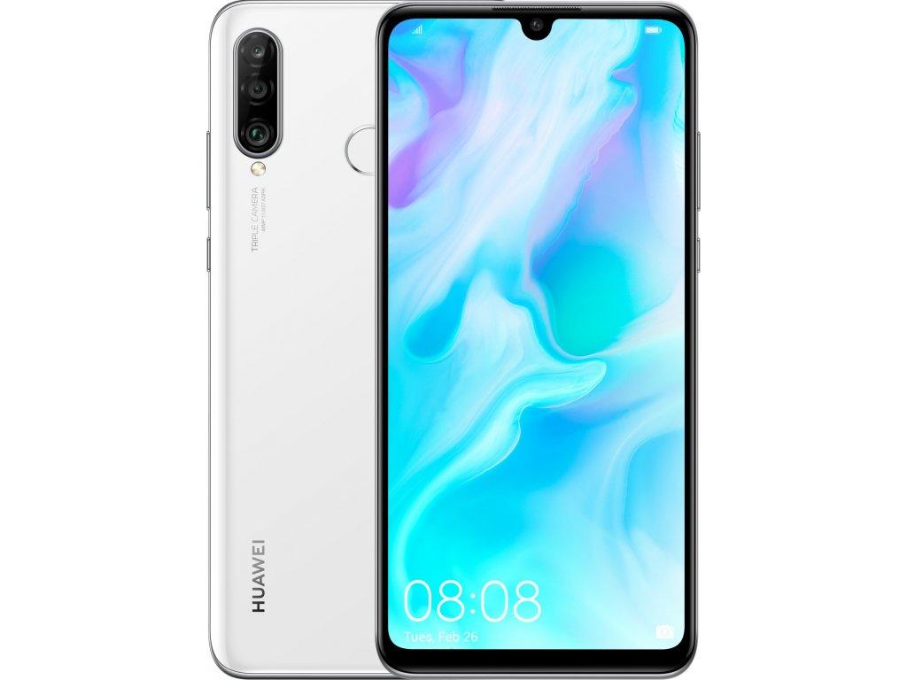 Huawei P30 Lite 4GB/128GB Dual SIM Bílá  - CZ Distribuce