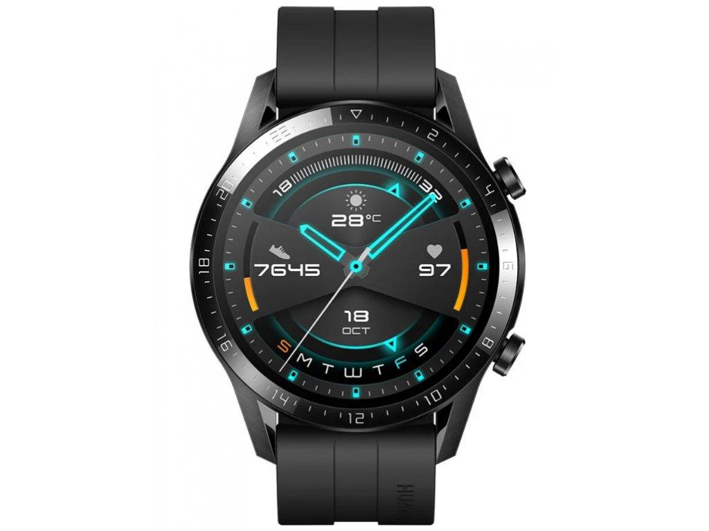 Screenshot 2021 02 26 Huawei Watch GT 2 Fluoroelastomer Strap, Black Kuki TV na 2 měsíce zdarma