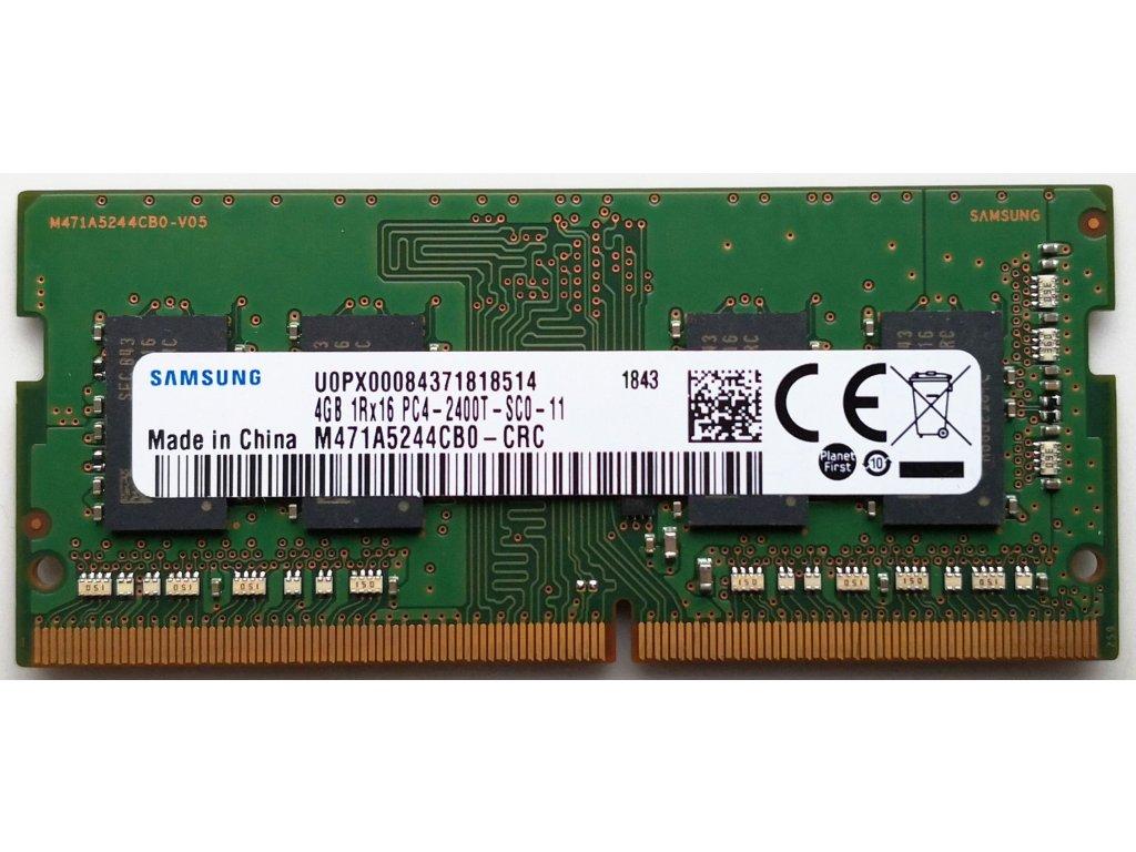 Samsung SODIMM DDR4 4GB 2400MHz CL17 M471A5244CB0-CRC