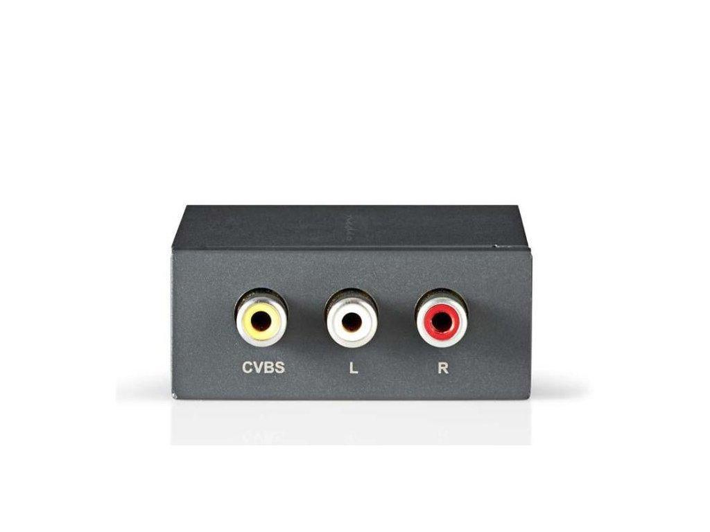 nedis vcon3430at prevodnik kompozitni video na hdmi 92555215