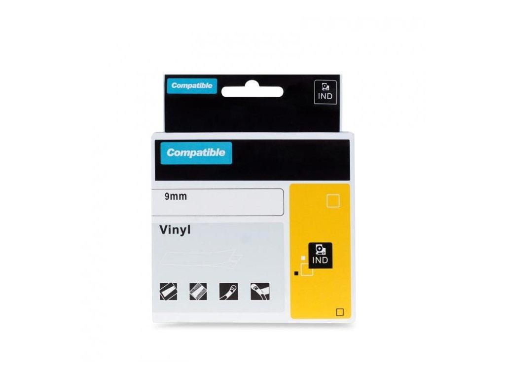 printline kompatibilni paska s dymo 1805437 9mm 5 5m bily tisk cer 96870922