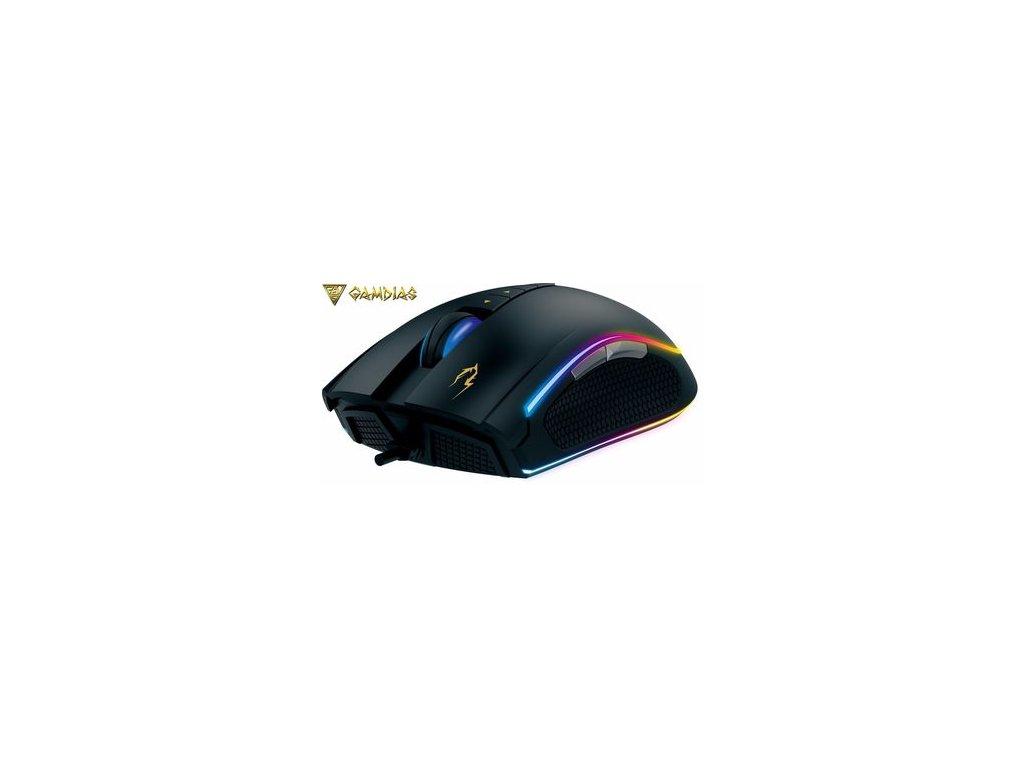 Gamdias ZEUS M2 - herní myš s podložkou