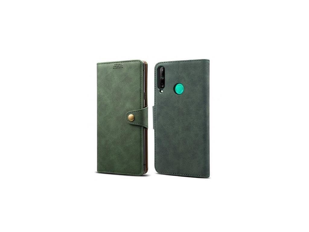 lenuo leather flipove pouzdro pro huawei p40 lite e zelena 103566325
