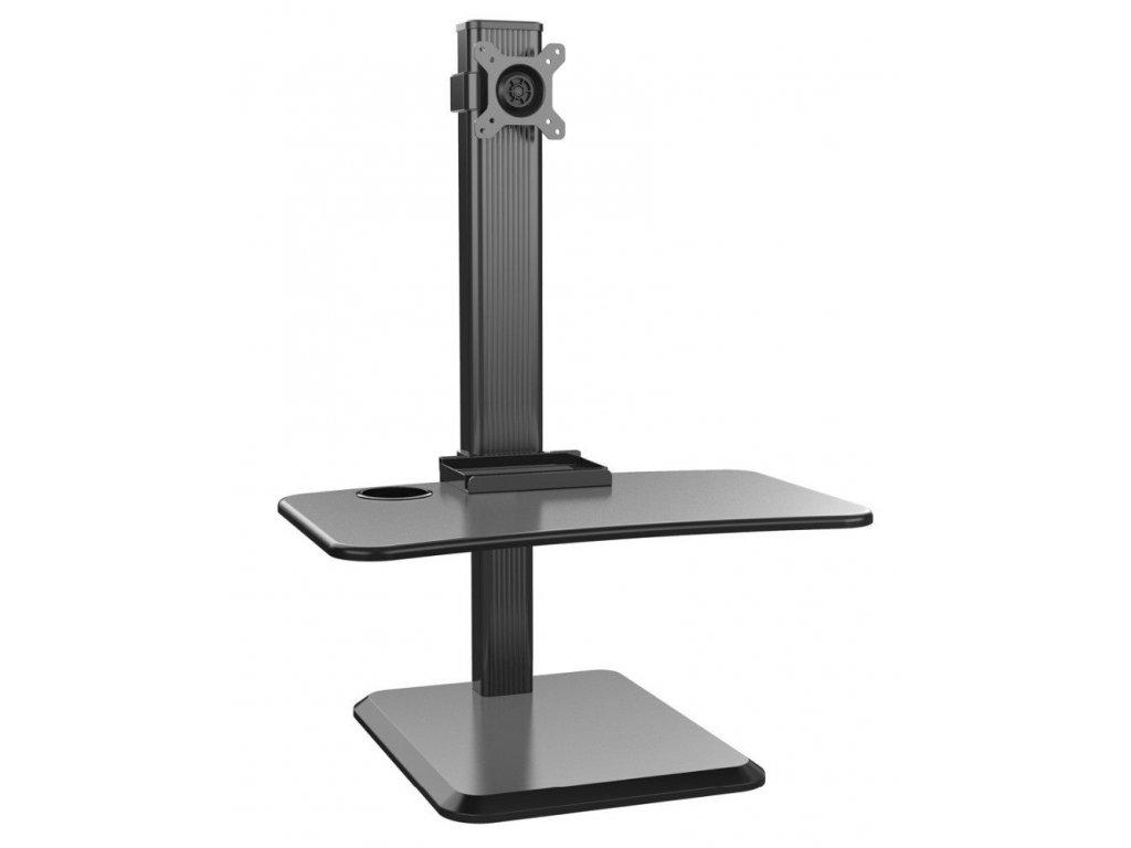 Výškově stavitelný PC stůl STRICT BRAND WS17