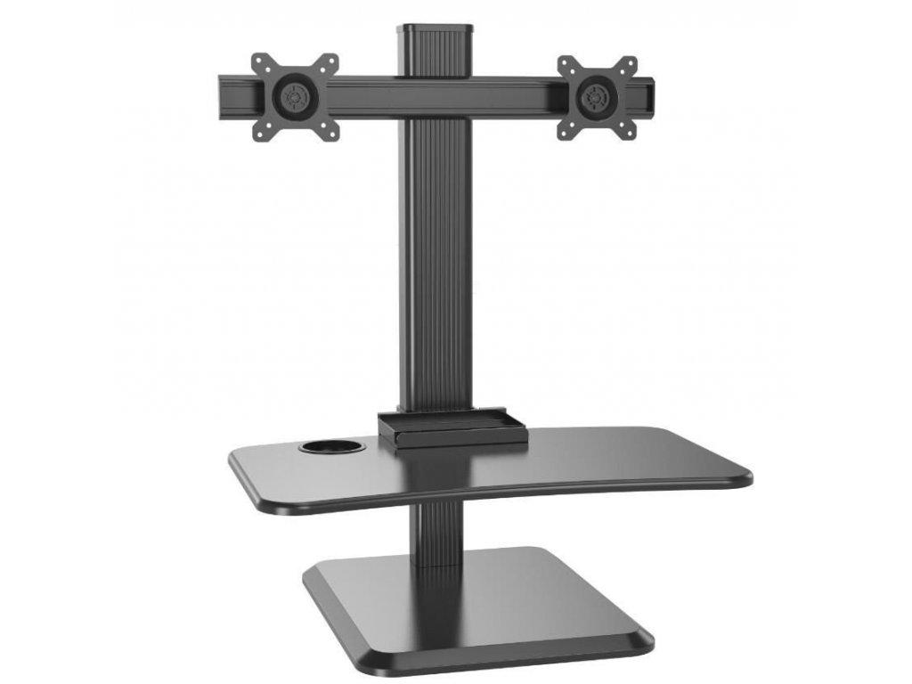 Výškově stavitelný PC stůl STRICT BRAND WS18
