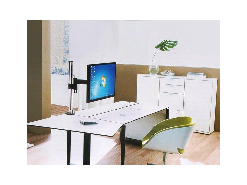 Kancelářský držák na 2 LCD monitory STRICT BRAND SBD23