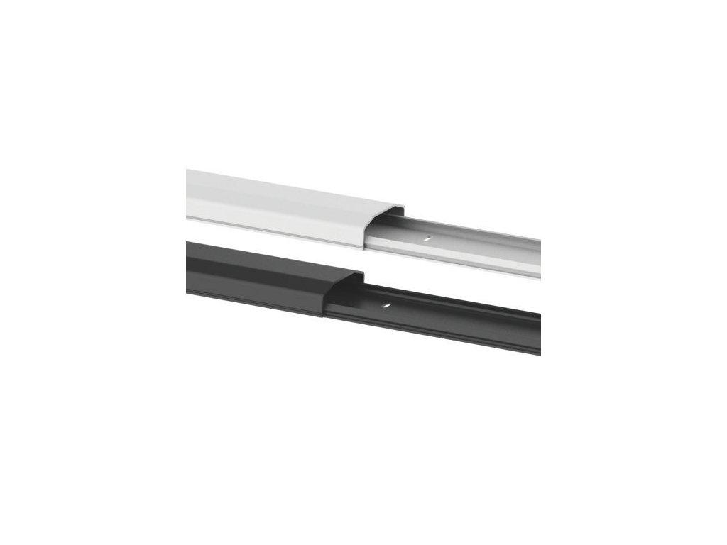 SB75 černá Krycí lišta na kabeláž