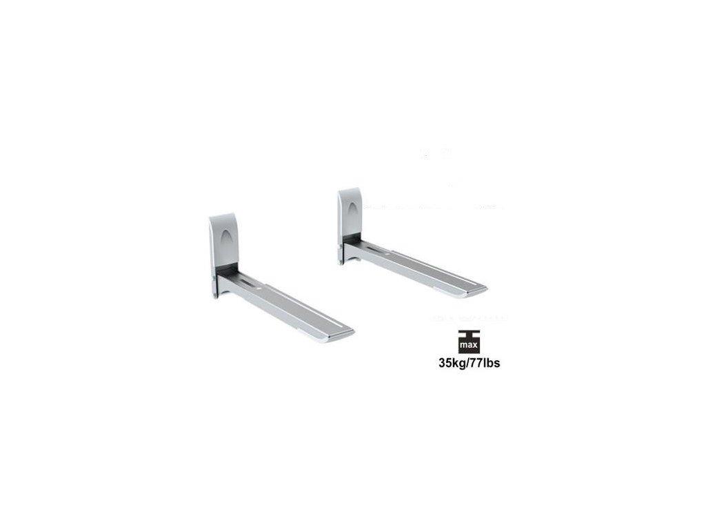 Držák mikrovlnky STRICT BRAND SB06 stříbrná