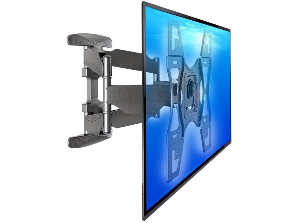 Televizní držák DF600 / X7  zesílený PROFI držák + + zdarma kvalitní instalační materiál