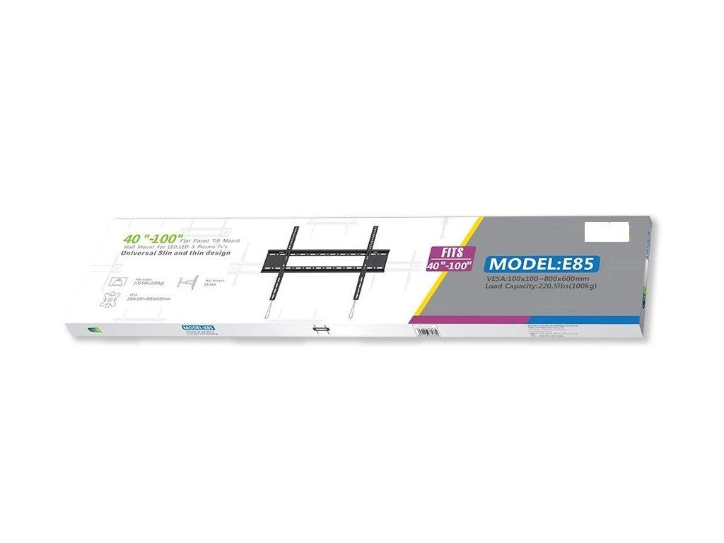 Profesionální fixní držák na Tv Strict Brand E85 do 100kg