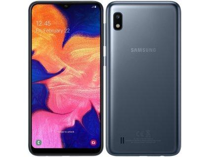 Samsung Galaxy A10 A105F Dual SIM - černý (BEZ 32GB MicroSD karty a orig. krabice!!)
