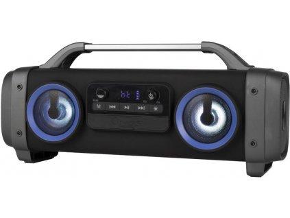 ngs street breaker mini boombox bt repro 2 2 system 100w led karaoke cerny