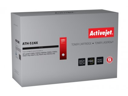 ActiveJet toner HP 7551X LJ 3005/3035 (AT-51NX),13500 str.