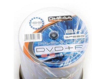 omega freestyle dvd r 8 5gb 8x double layer cake 100 ks 95094789