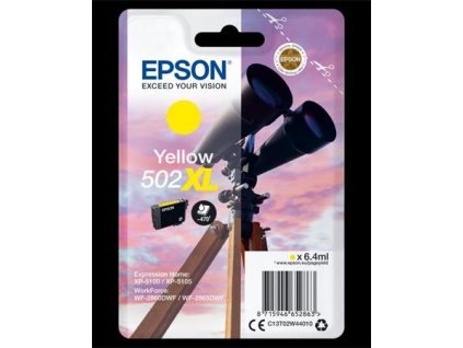 epson cartridge t02w4 yellow xl dalekohled ien382833