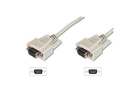 digitus seriovy kabel pripojovaci db9 f f 5m sedy 103052959