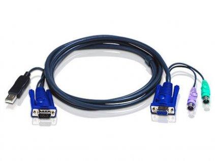 aten integrovany kabel 2l 5503up pro kvm usb 3m pro cs9138 104081605