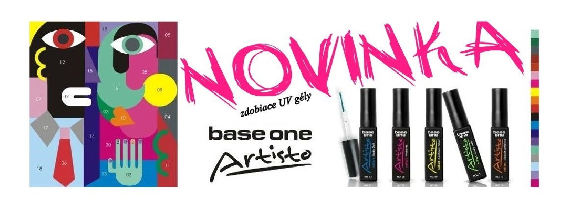 Base one Artisto - zdobiace UV gély