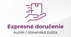 Dodanie kuriérom alebo Slovenskou poštou