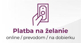 Platba online, prevodom alebo dobierkou