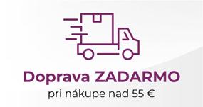 Doprava zadarmo pri nákupe na 55€