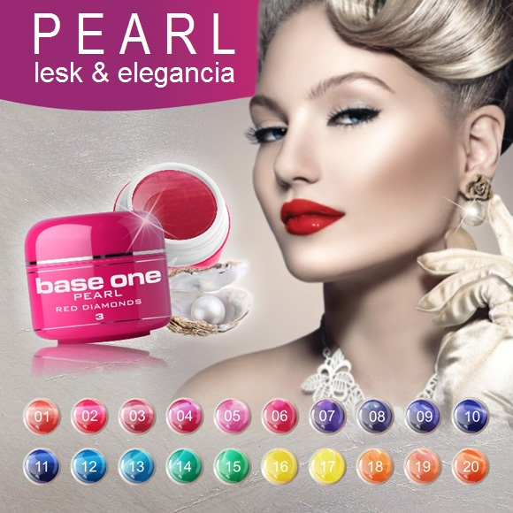 UV gély Base One Pearl