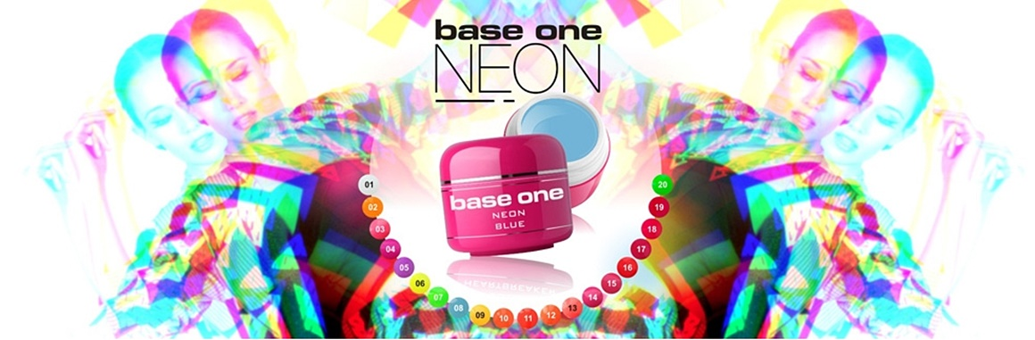 Neon UV gél Base One Silcare