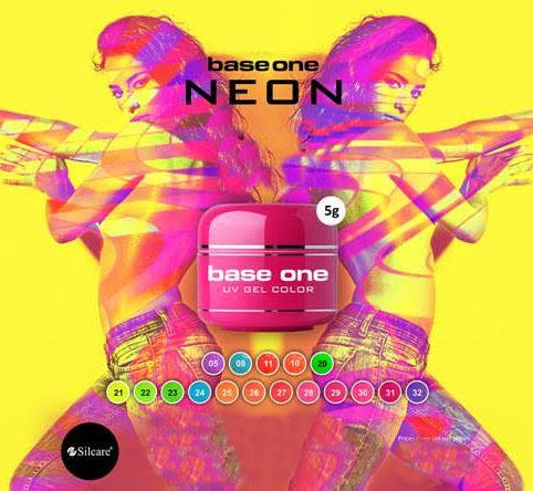 Neónove UV gély