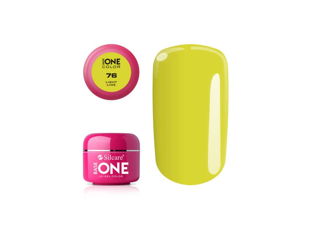 Farebný UV gél Base One 5g / 76 Light Lime