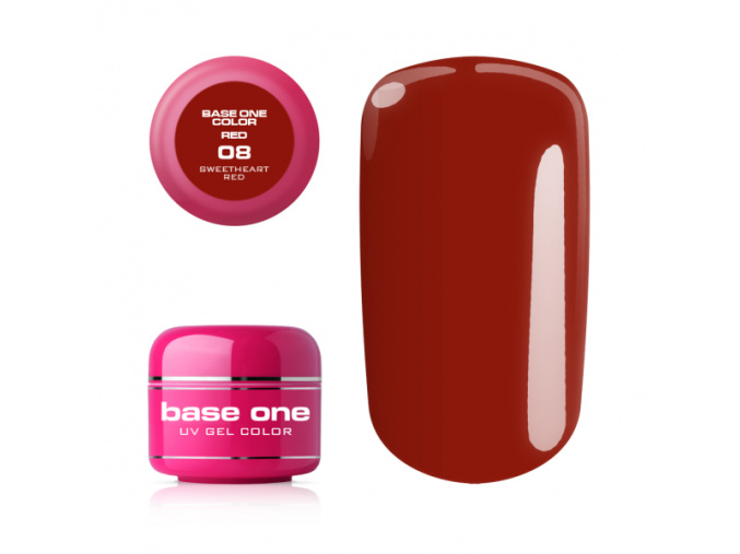 Base One red 08