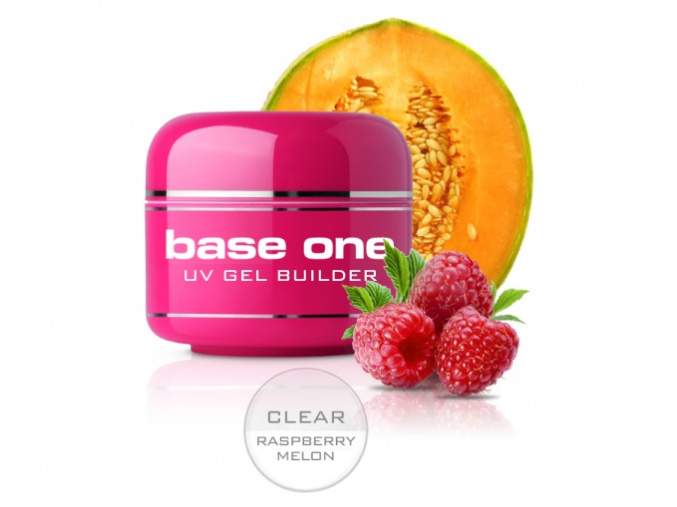 Clear Raspberry Melon