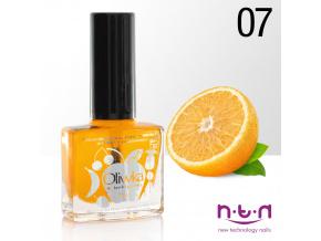 Olejček na nechty 10ml / 07 pomaranč