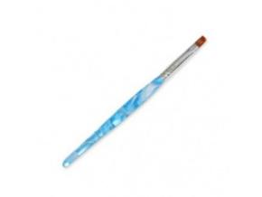 Štetec na UV gél č.6 - modrý